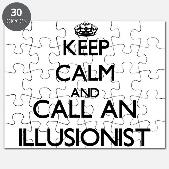 Keep calm and call an Illusionist Puzzle