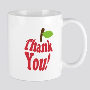 Thank You Red Apple Appreciation Mugs