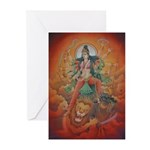 Durga Greeting Cards (Pk of 10)