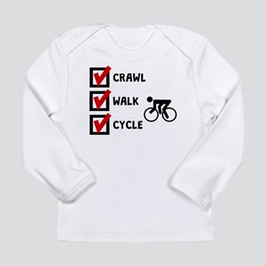 Crawl Walk Cycle Long Sleeve T-Shirt