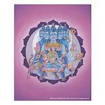 Fifth Chakra Poster - Vishuddha Chakra