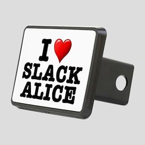 I LOVE - SLACK ALICE: - Rectangular Hitch Cover