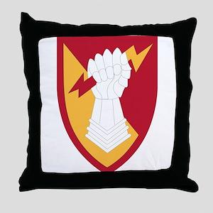 38 Air Defense Artillery Brigade. Throw Pillow