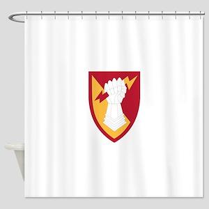 38 Air Defense Artillery Brigade.ps Shower Curtain
