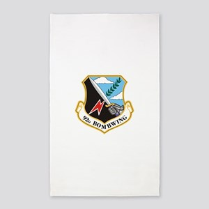 92nd Bomb Wing 3'x5' Area Rug