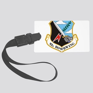 92nd Bomb Wing Large Luggage Tag