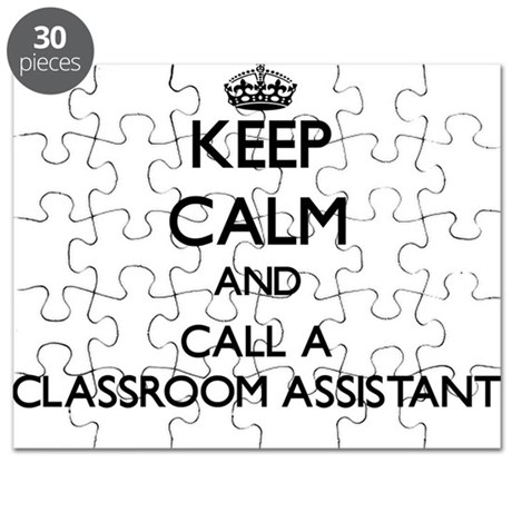 Keep calm and call a Classroom Assistant Puzzle by Admin