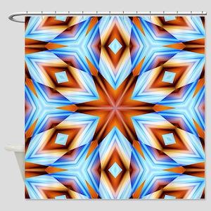 Southwestern Geometric Shower Curtain