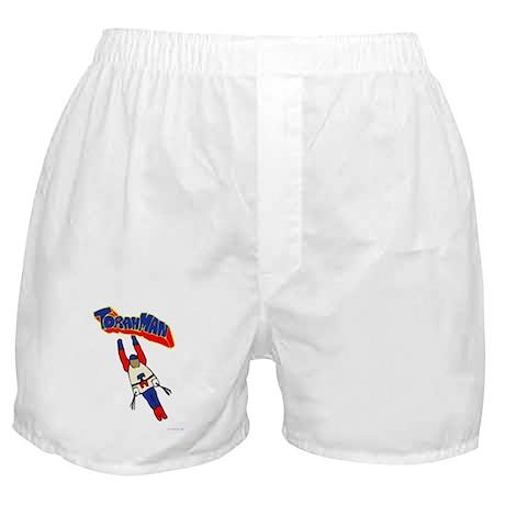 Jewish Torah Man Super Jew Boxer Shorts