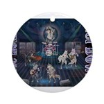These Hounds Can Get Down!! Ornament (Round)