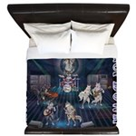 These Hounds Can Get Down!! King Duvet