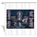 These Hounds Can Get Down!! Shower Curtain