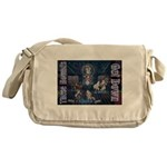 These Hounds Can Get Down!! Messenger Bag