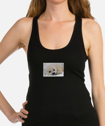 fur seal Racerback Tank Top