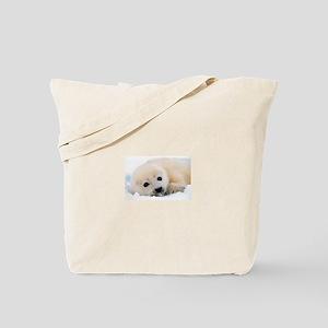 fur seal Tote Bag