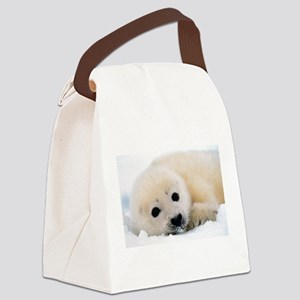 fur seal Canvas Lunch Bag