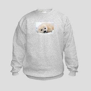 fur seal Kids Sweatshirt