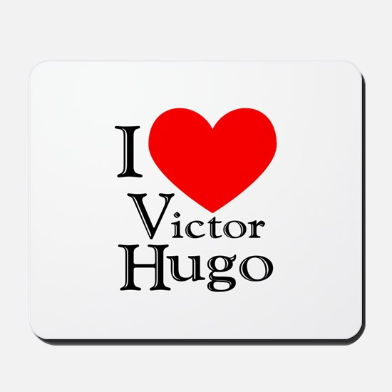 Love Victor Hugo Mousepad
