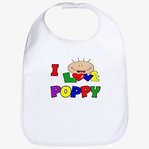 I Love Poppy CUTE Bib