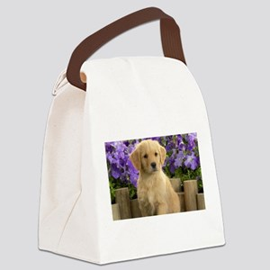 labrador puppy Canvas Lunch Bag