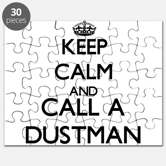 Keep calm and call a Dustman Puzzle