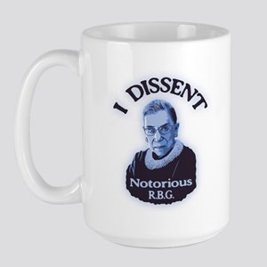 Notorious RBG Large Mug