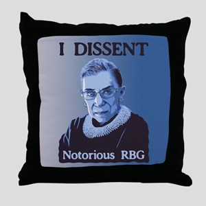 Notorious RBG Throw Pillow