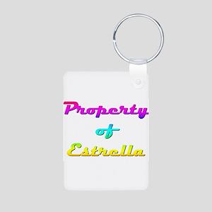 Property Of Estrella Female Keychains