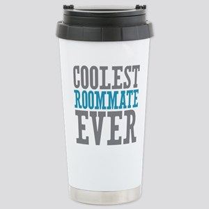 Coolest Roommate Ever Stainless Steel Travel Mug