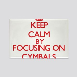 Keep Calm by focusing on Cymbals Magnets