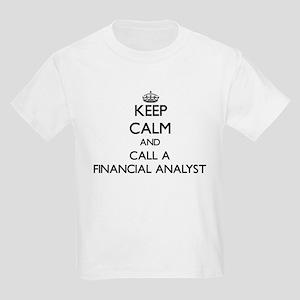 Keep calm and call a Financial Analyst T-Shirt