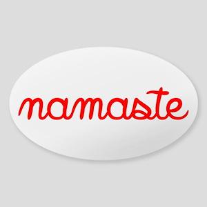 Namaste Script Sticker