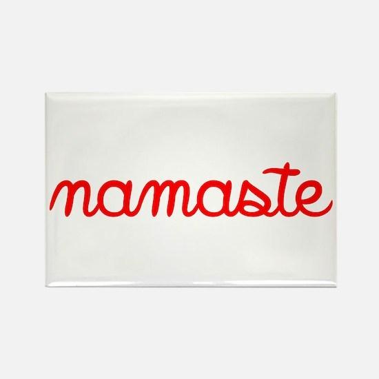 Namaste Script Magnets