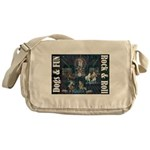 Dogs, Fun, and Rock Roll Messenger Bag
