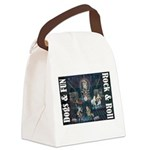 Dogs, Fun, and Rock Roll Canvas Lunch Bag