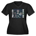 Dogs, Fun, and Rock Roll Plus Size T-Shirt