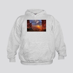 Grand Canyon Sunset Kids Hoodie