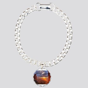 Grand Canyon Sunset Charm Bracelet, One Charm