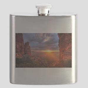 Grand Canyon Sunset Flask