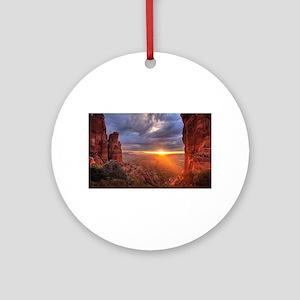 Grand Canyon Sunset Ornament (Round)