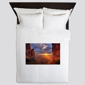 Grand Canyon Sunset Queen Duvet