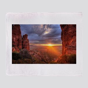 Grand Canyon Sunset Throw Blanket