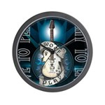 Live To Play Stage Wall Clock