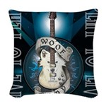 Live To Play Stage Woven Throw Pillow