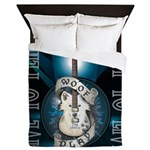 Live To Play Stage Queen Duvet