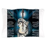 Live To Play Stage Pillow Case