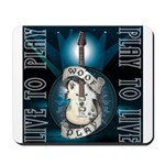 Live To Play Stage Mousepad