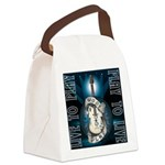 Live To Play Stage Canvas Lunch Bag