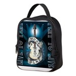 Live To Play Stage Neoprene Lunch Bag