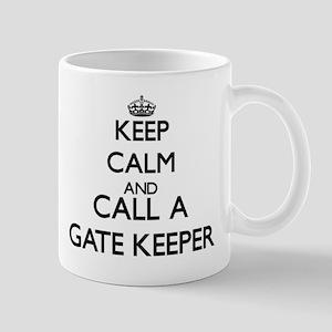 Keep calm and call a Gate Keeper Mugs